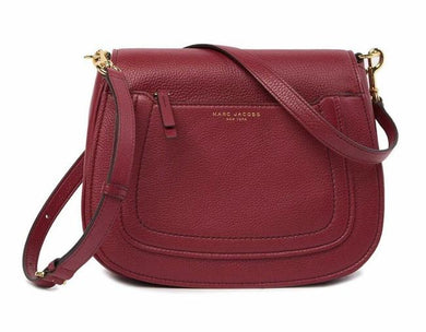 Marc Jacobs Mini Empire City M0013049 Crossbody Bag In Milled Wine