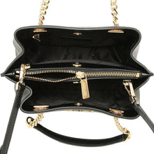 Load image into Gallery viewer, Michael Kors Teagen 35S0GXZM1L Small Messenger Bag In Black