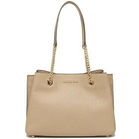 Michael Kors Teagen Large Long Drop Satchel Bag 35S0GXZS7L In Bisque