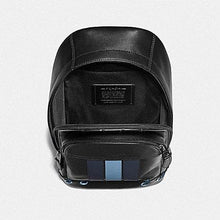 Load image into Gallery viewer, Coach Houston Pack with Baseball Stitch F76867 (Black/Midnight Navy/Washed Blue/Black Antique Nickel)
