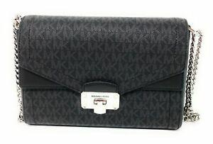 Michael Kors Kinsley Medium Shoulder Flap 35H9SYKF2B In Black