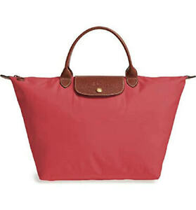 Longchamp LePliage Medium Short Flowers