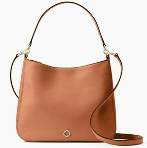 Kate Spade Medium Kailee WKRU6486 Double Compartment Shoulder Bag In Warm Ginger Bread
