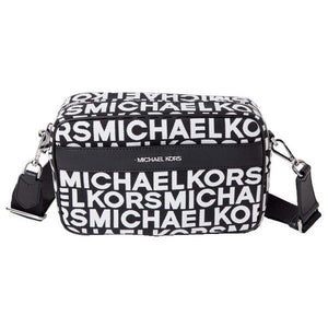 Michael Kors Kenly 35S0SY9C3J Large Pocket Crossbody Bag In Black Multi
