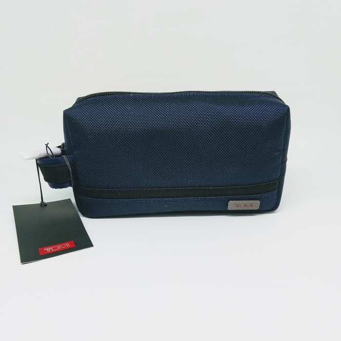 Tumi Small Kit (Navy Blue)