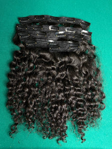 Curly Cambodian Clip-In Set