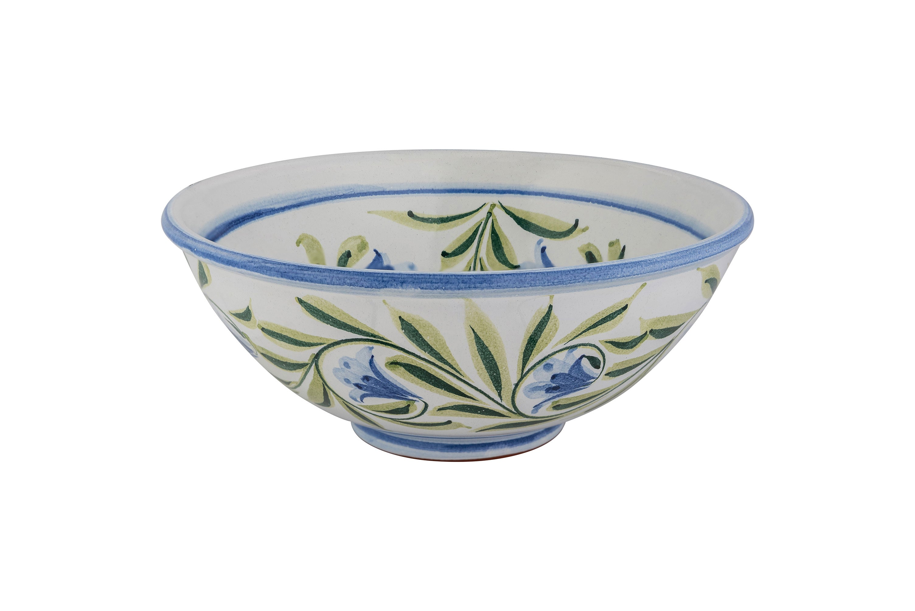 Lily Flower Large Serving Bowl