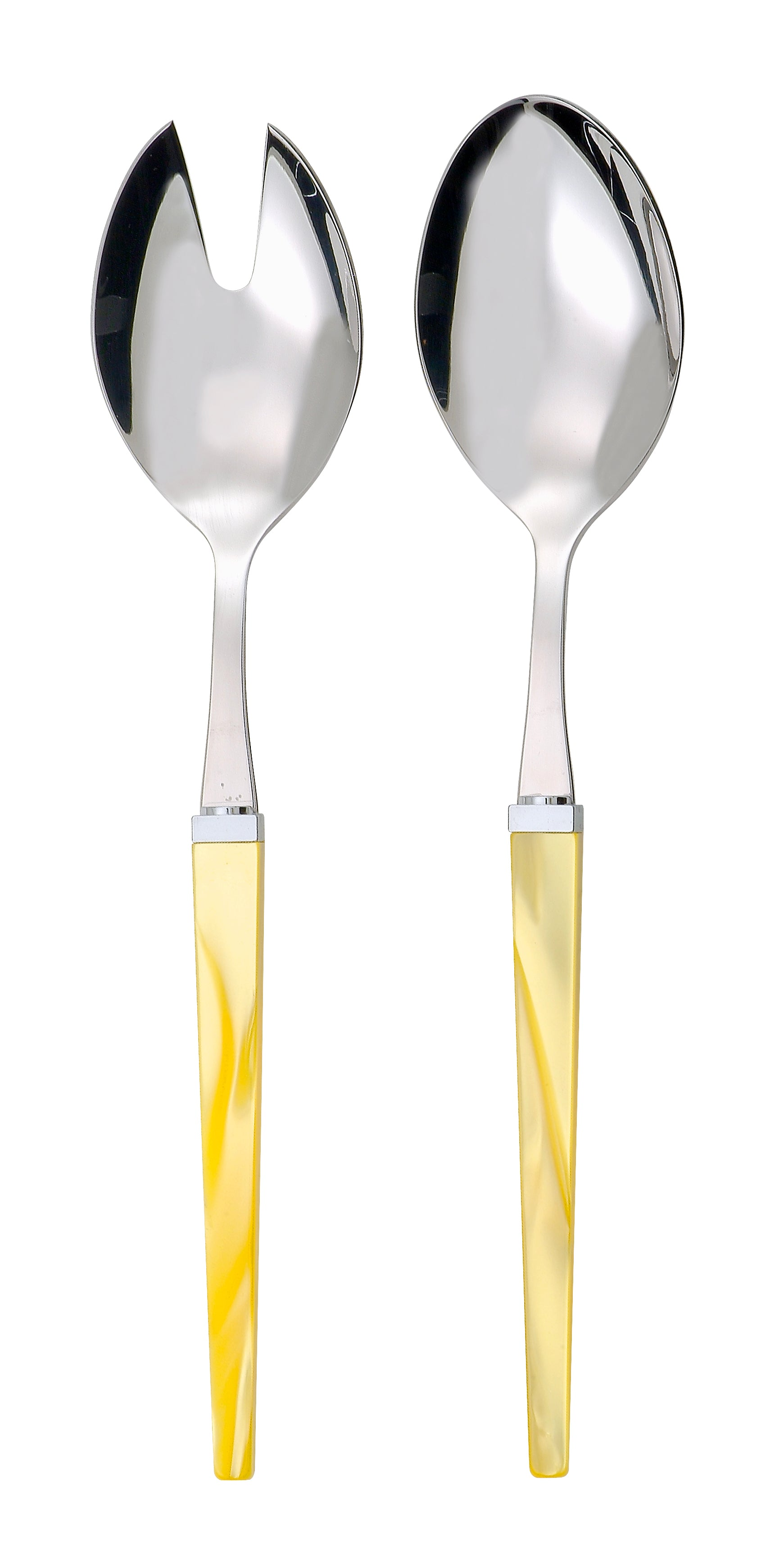 Rainbow Pair of Salad Servers