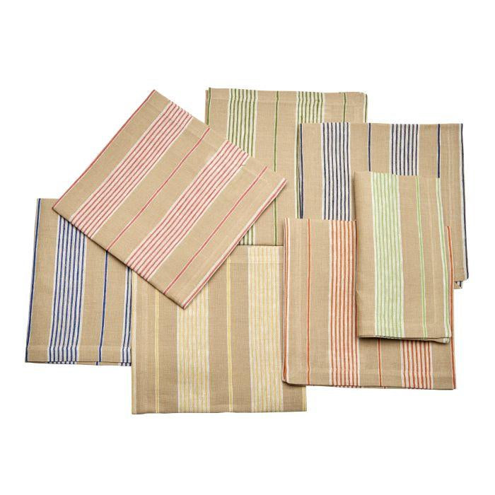 Canvas Stripe Napkins