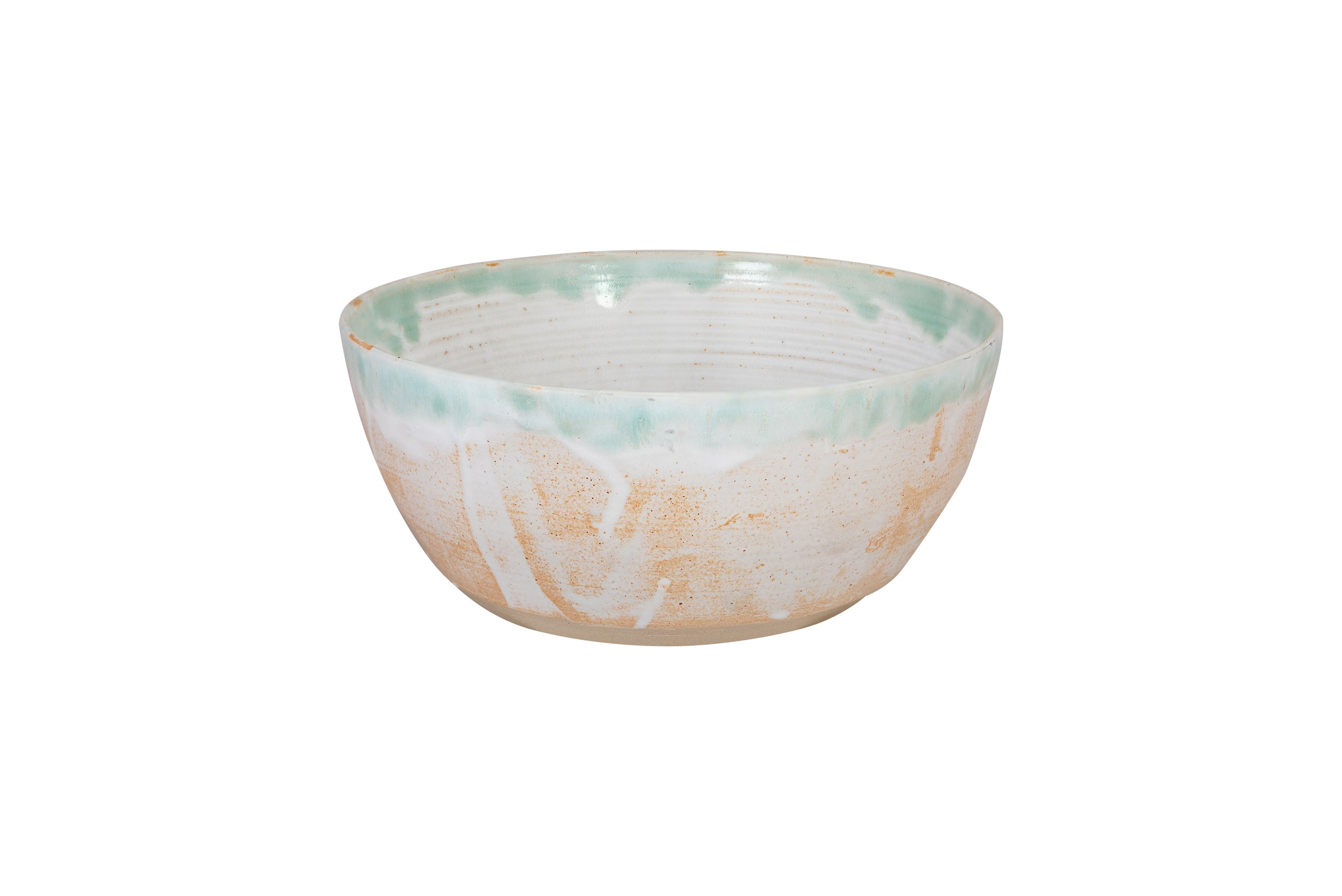 Large Fossil Ceramic Salad Bowl Florence St George