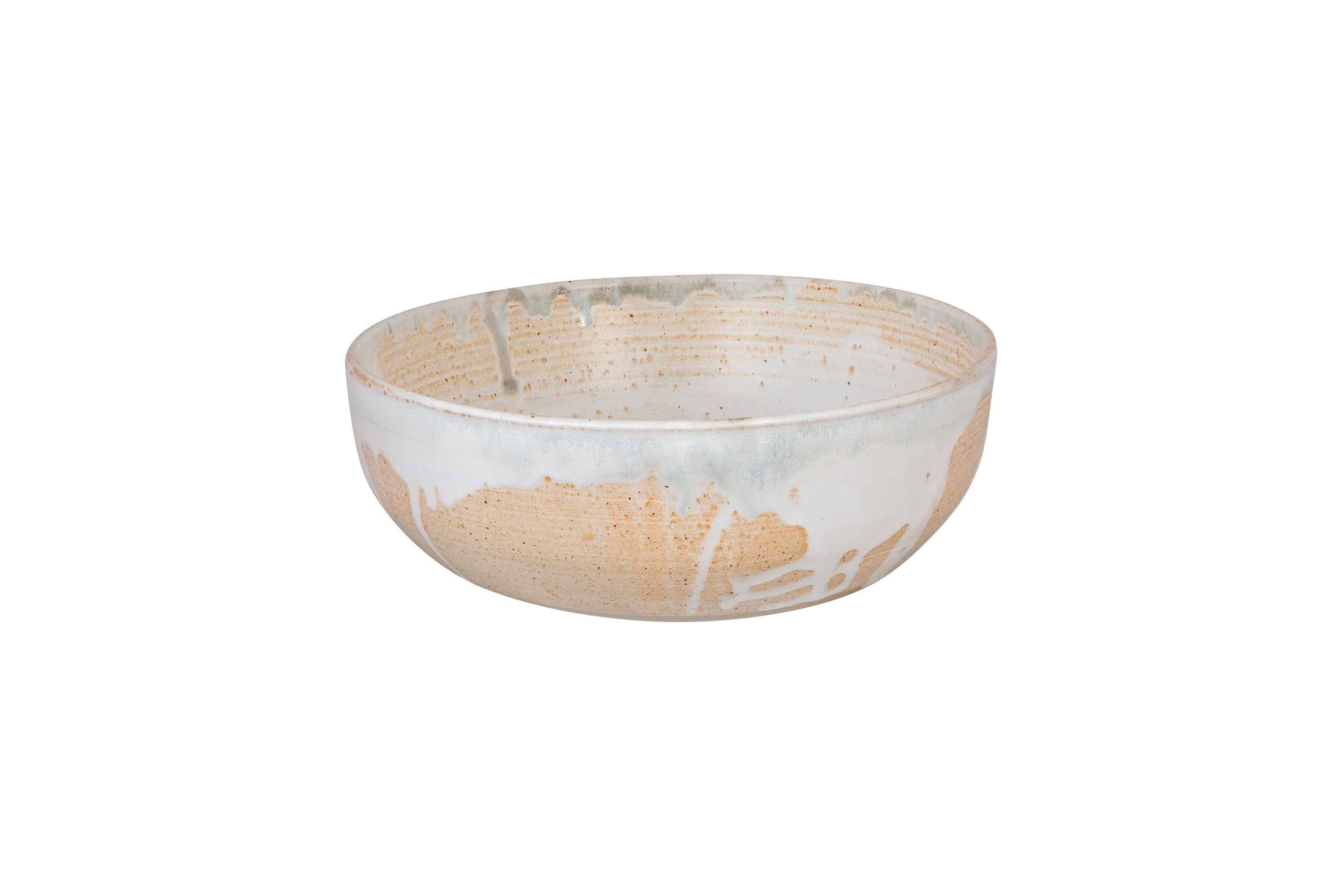 Large Fossil Ceramic Serving Bowl Florence St George