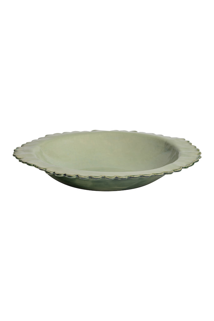 Large Flat-Edge Daisy Salad Bowl