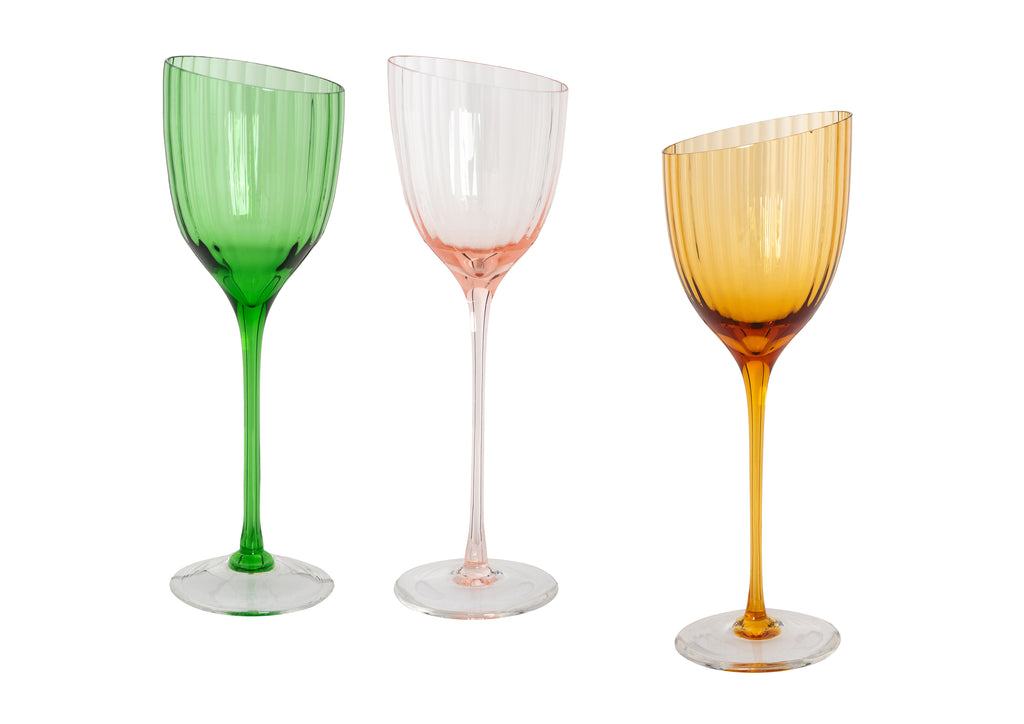 Handblown Italian Wine Glasses