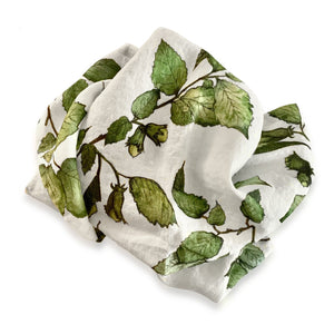 BERTIOLI BY THYME COBNUT LINEN TABLE CLOTH