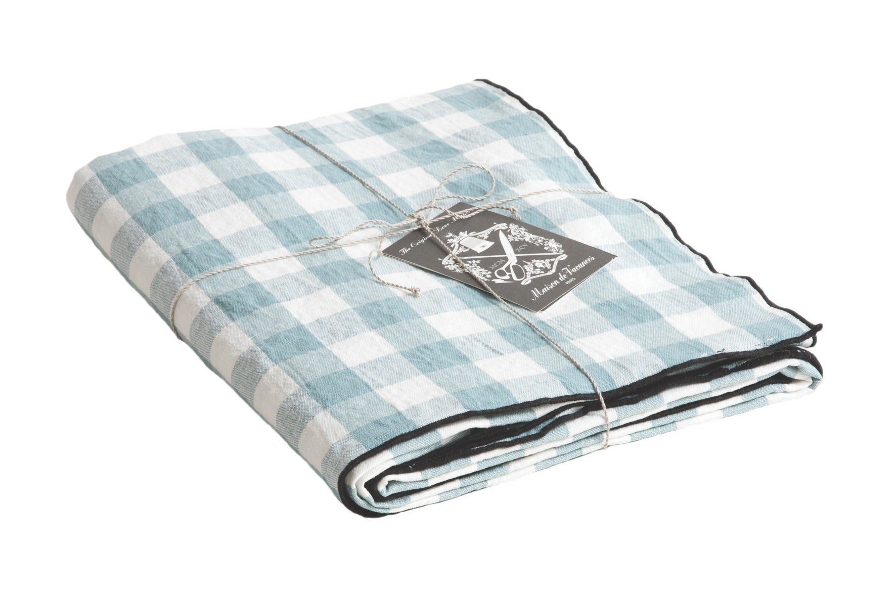 Canvas Mimi Vichy Tablecloth (Medium 300 x 145 cm)