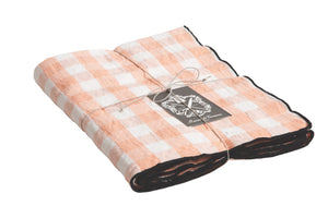 Canvas Mimi Vichy Tablecloth (Large 350 x 145 cm)