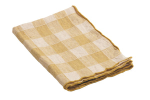 Vichy Washed Placemats/Napkins