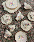 Vintage Foley China Tea Set for 6
