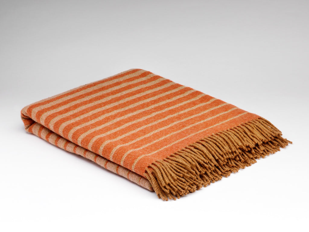 Mexican Stripe Wool Blanket