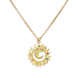 Eclisse Gold & Diamond Necklace