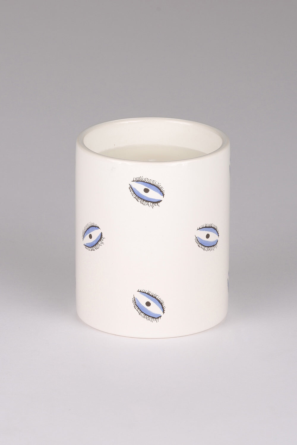 Small Evil Eye Candle