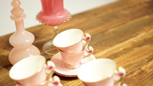 Vintage Royal Winton Petunia Tea Set