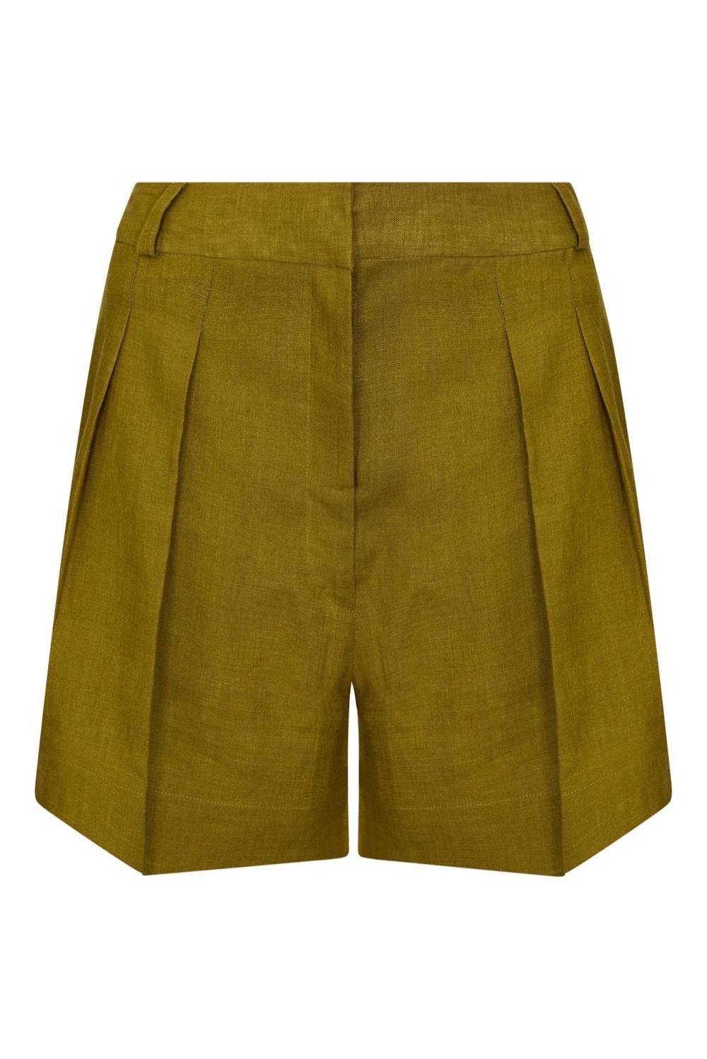ASCENO MADRID WARM OLIVE SHORT