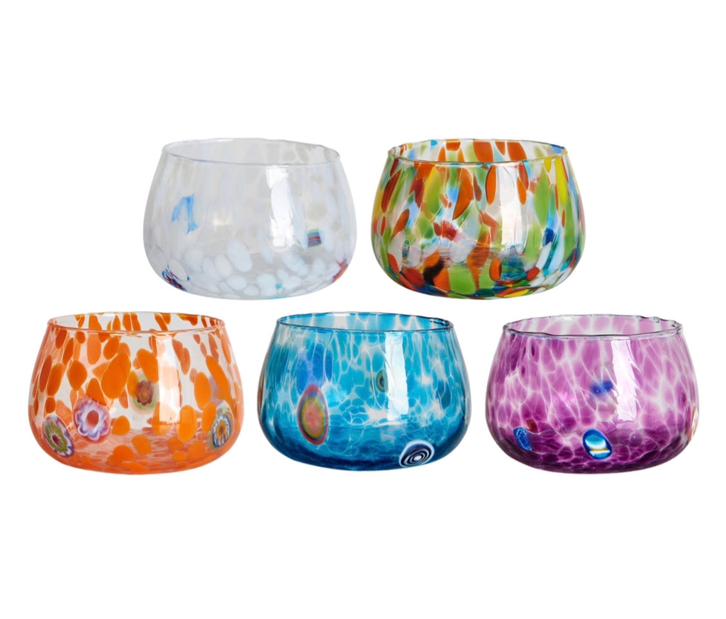 Murano Shallow Glasses / Bowls