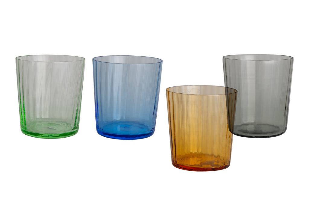 Short Handblown Italian Glasses