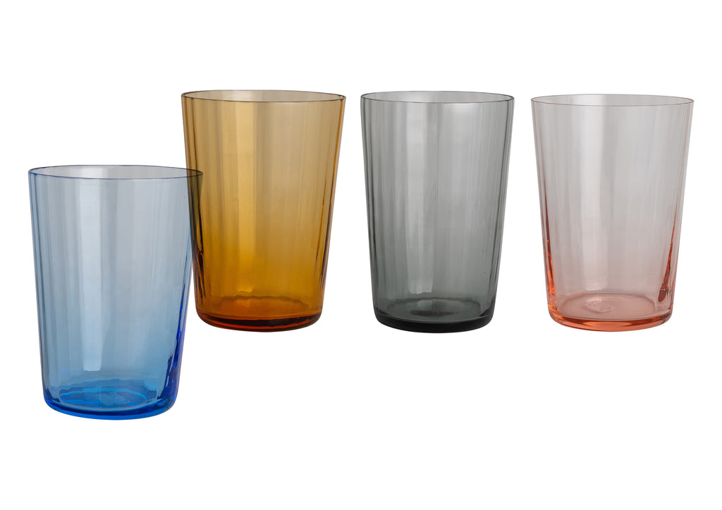 Tall Handblown Italian Glasses