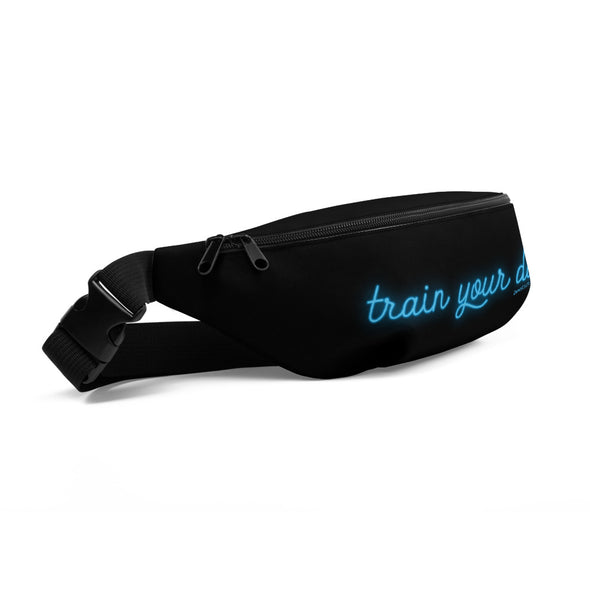 Neon Train Your Dog Fanny Pack