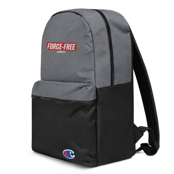 Red FF Embroidered Champion Backpack