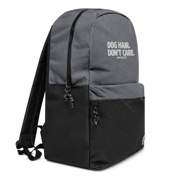 Dog, DC Embroidered Champion Backpack