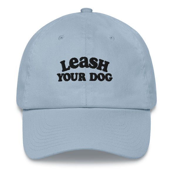 Leash Your Dog Dad hat