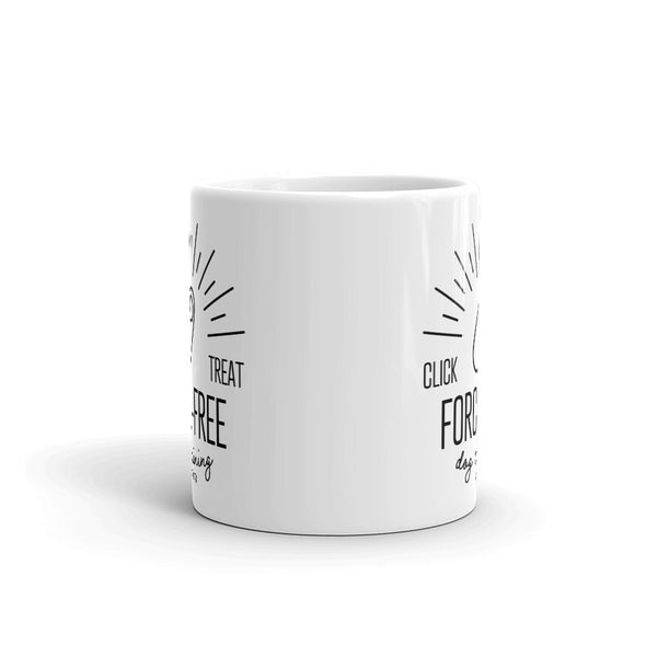 Force-Free Clicker Mug