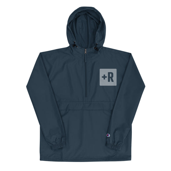 +R Embroidered Champion Packable Jacket