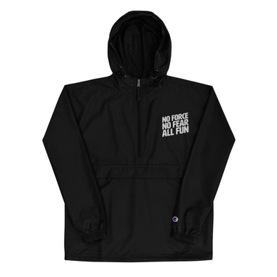 No Force Embroidered Champion Packable Jacket