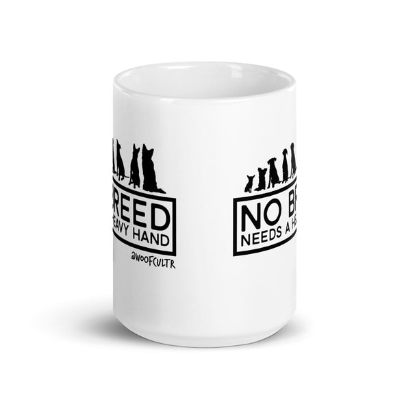 No Heavy Hand Mug