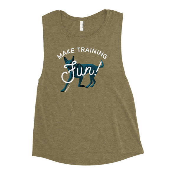 Make Training Fun Muscle Tank