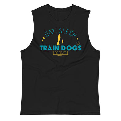 Dog Trainer Life 2 Unisex Muscle Tank
