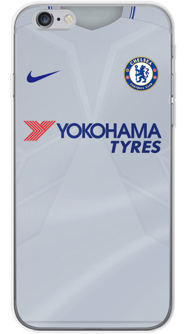 Chelsea Away 2017/18 Phone Case (Soft Transparent)