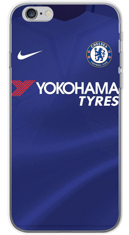 Chelsea Home 2017/18 Phone Case (Soft Transparent)