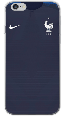 France World Cup 2018 Phone Case (Soft Transparent)