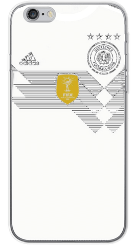 Germany World Cup 2018 Phone Case (Soft Transparent)