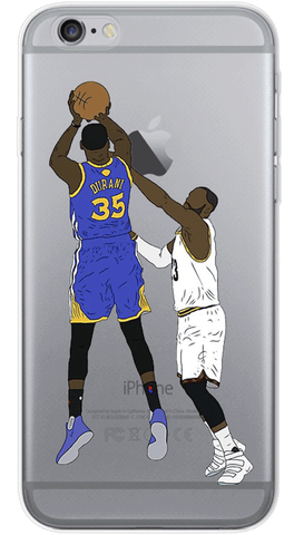 KEVIN DURANT Shooting iPhone Case