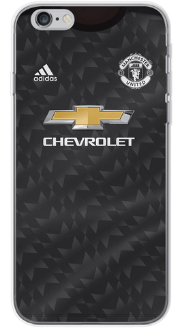 Manchester United Away 2017/18 Phone Case (Soft Transparent)
