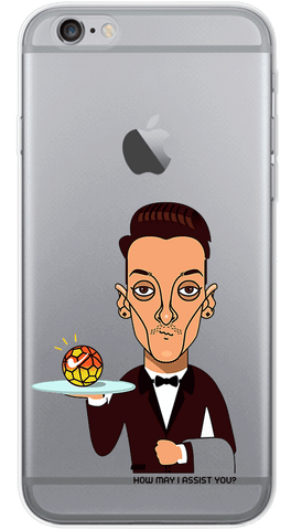 Ozil Serving Goals Phone Case
