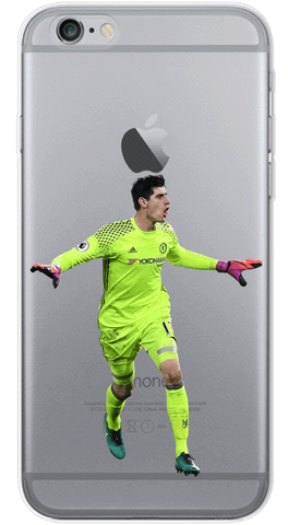 courtois stay calm Phone Case
