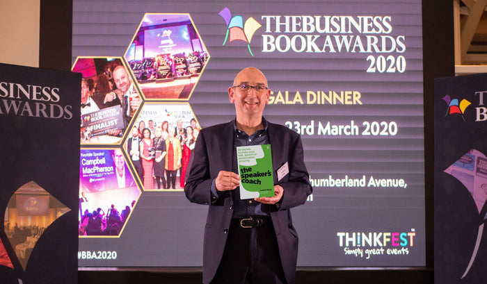 'The Speaker's Coach: Finalist in Business Book Awards 2020