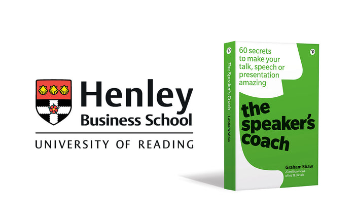 Henley Business School launch Graham's New Book